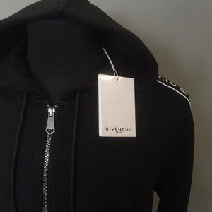 GIVENCHY MEN WITH ZIPPER HOODED